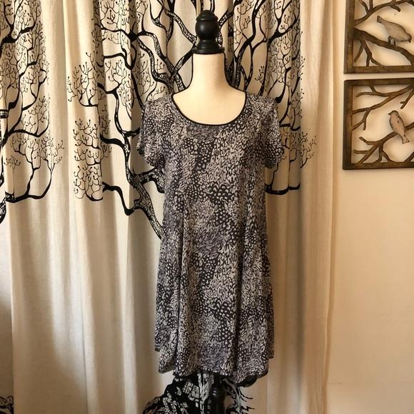 c3983232e7b3 silence + noise Dresses   Uo Silence Noise Animal Print Swing Dress ...